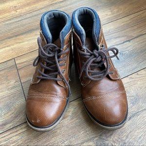 {preloved} Brown Sonoma Boy's Dress Boots